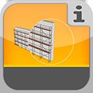 1.1.1.0.0 - Gerüste aus Rahmen, verschiedene Systeme, leicht zu bauen, Einzelteile und komplette Pakete Fassadengerüst