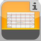 1.1.1.1.0 - Vollständige Fassadengerüste mit allem Zubehör, ohne Verankerung Komplett-Pakete