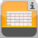 1.1.1.2.1 - Vollständige Fassadengerüste aus Rux Super Systemteilen mit allem Zubehör, ohne Verankerung Gerüstpakete Rux Super