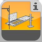 1.1.1.8.0 - Zusammenstellung der Einzelteile aus allen Fassadengerüstsystemen Gerüstteile / Ersatzteile / Zubehör