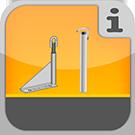 1.1.1.9.0 - Einzelteile und komplette Pakete für die Befestigung von Gerüsten Verankerung