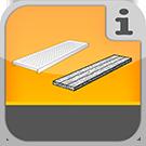 1.1.3.5.0 - Verschiedene systemunabhängige Beläge aus Holz, Stahl und Alu (Gerüstbohlen) Beläge