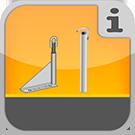 1.1.3.8.0 - Verschiedene universell einsetzbare Gerüstverankerungen, auch Dauerverankerung Verankerung
