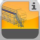 1.1.4.0.0 - Arbeitsbühnen zur manuellen Enteisung von LKWs Eisfrei-Gerüst