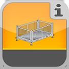 1.1.8.1.0 - Verschiedene Paletten zur Lagerung von Gerüstteilen Paletten & Gitterboxen