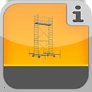 1.2.3.0.0 - Rollgerüste für den Anspruchsvollen Anwender, nicht klappbar Profirollgerüst