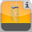 1.2.4.0.0 - Treppenaufgänge auf Rollgerüstbasis bzw. verfahrbar Fahrbares Treppengerüst