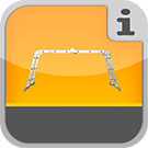 1.3.4.0.0 - Leitern mit Klappgelenken, die sich in verschiedene Leiterntypen verwandeln können Universalleiter