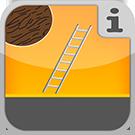 1.3.9.0.0 - Verschiedene Leiterntypen aus Holz Holzleiter