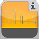 1.4.0.0.0 - Artikel aus dem Bereich der Bautechnik, Gerüstböcke, Bauzäune und Transportpaletten Bautechnik