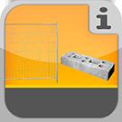 1.4.2.1.0 - Bauzaun Elemente in verschiedenen Ausführungen mit entsprechendem Zubehör Bauzaun & Zubehör