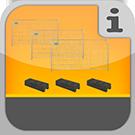 1.4.2.2.0 - Komplette Bauzaun-Pakete in verschiedenen Größenordnungen Komplett-Pakete