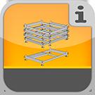 1.4.3.1.0 - Stappelpaletten verschiedener Ausführung und Abmessungen Stapelpaletten