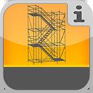 1.5.1.0.0 - Robuste Treppen mit komfortabler Breite, die primär für Bauzwecke genutzt werden Bautreppen & Bautreppentürme