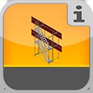 1.5.2.0.0 - Treppenaufgänge als vorgebauter Turm an Gerüsteinheiten  Gerüsttreppen