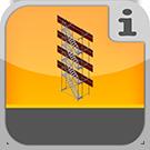 1.5.2.1.0 - Vollständiges Paket zur Errichtung eines Turms vor einem Gerüst Kompletter Treppenturm