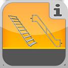 1.5.2.2.0 - Alle speziellen Treppenteile einzeln Einzelteile Gerüsttreppe