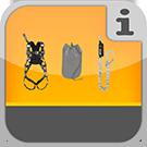 1.7.1.1.0 - Verschieden ausgestaltete PSA Sets mit unterschiedlichen Gurtsystemen PSA Komplettsets