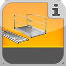 1.8.1.0.0 - Systemunabhängige Gerüstbeläge und Spezialbohlen aus verschiedenen Materialien Stege & Universalbeläge