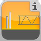 1.9.1.0.0 - Einzelteile zur Erstellung von (Rahmen-)Strukturen und Traversensystemen Traversen, Gitterträger & Rohre