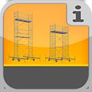 1.9.5.0.0 - Rollgerüste für den Anspruchsvollen Anwender, nicht klappbar Rollgerüste
