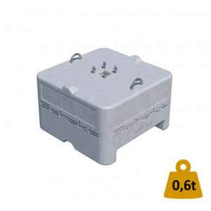 Betonballast 0,6 t, 80x80x56 cm (Betongewicht)