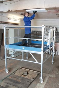 Weise Rollbock 5000 Plus, Ausstattung für AH bis 3,9 m