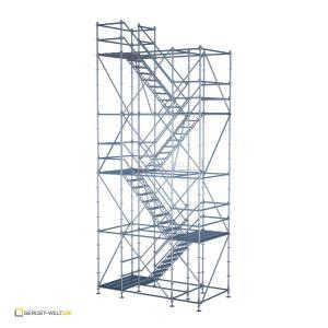 Bautreppenturm Rux Ringscaff Ausstiegshöhe ca. 8,3