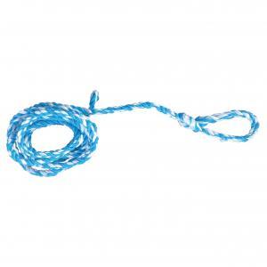 Gerüststrick PP weiß-blau