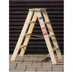 Weise Doppelstufenstehleiter Holz