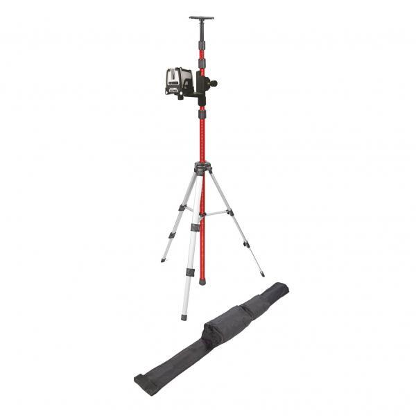 Kapro Kreuzlinien-Laser 873GS grün, Set mit 3 m Telskop-Profistativ