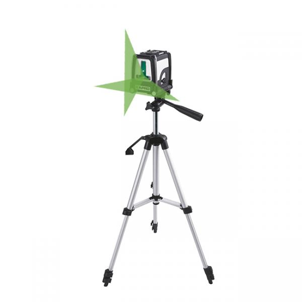 Kapro Kreuzlinien-Laser 872GS grün, Set mit Stativ selbstnivellierend