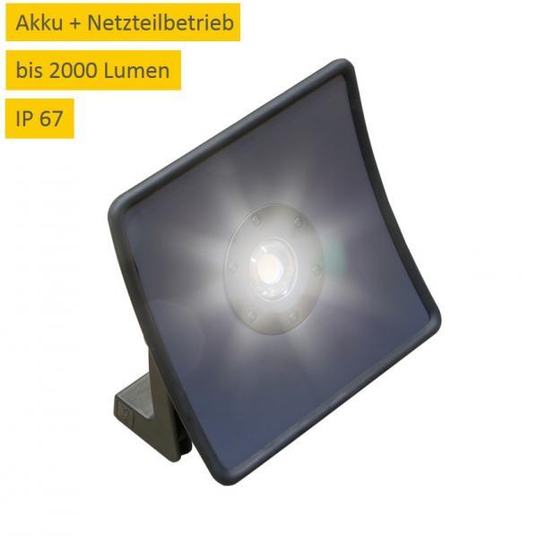 LED Akku Baustrahler Scangrip Nova 20 Multimatch C+R