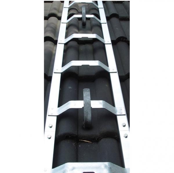 Weise Dachdecker-Auflegeleiter
