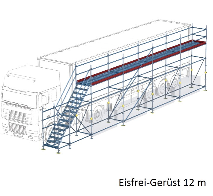 Fabulous Eisfrei-Gerüst mit Treppe, 12 m | Gerüste online kaufen | GERÜST TW44