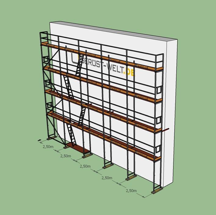 fassadenger st paket rux super se bera 65 gebraucht 90 m feldl 2 5 m ger ste online. Black Bedroom Furniture Sets. Home Design Ideas
