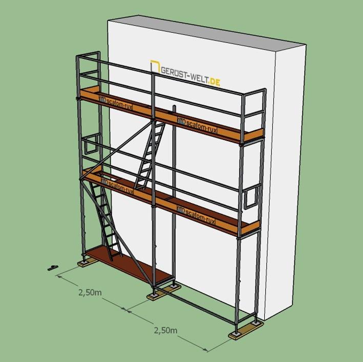 fassadenger st paket rux super se bera 65 gebraucht 26 m feldl 2 5 m ger ste online. Black Bedroom Furniture Sets. Home Design Ideas