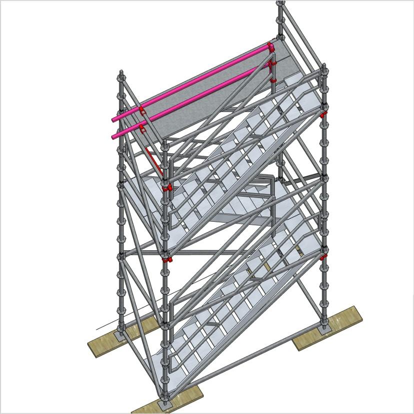 bautreppenturm mit alu podesttreppe ausstiegsh he 6 2 m ger ste online kaufen ger st welt de. Black Bedroom Furniture Sets. Home Design Ideas